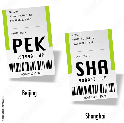 Airport tag bags - China