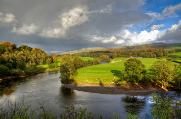 River Lune in Kirkby Lonsdale