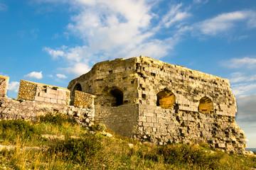 Sardegna, Cagliari, rovine del fortino di Sant'Ignazio