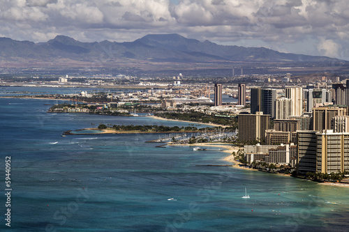 honolulu port area