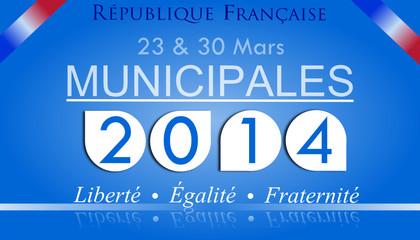 Panneau : Municipales 2014