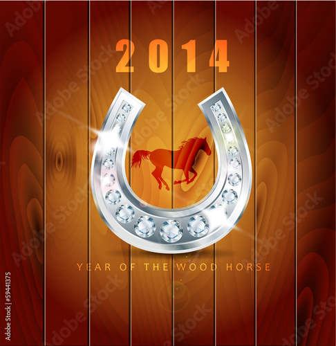 2014. Year of the wood horse.