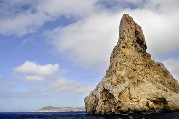 Es Vedra rocky coast