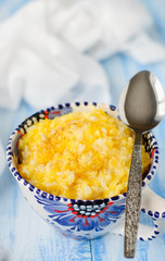 Millet and Rice Kasha (Porridge) with Pumpkin