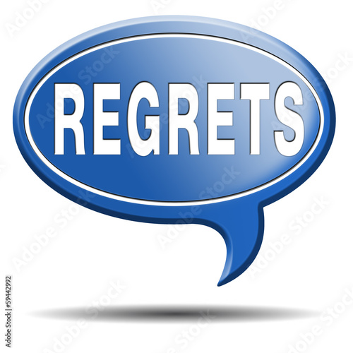 regrets icon