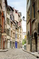Buildings in Lyon, France