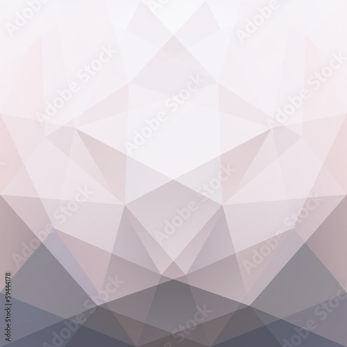abstract triangle background, vector - 59444178
