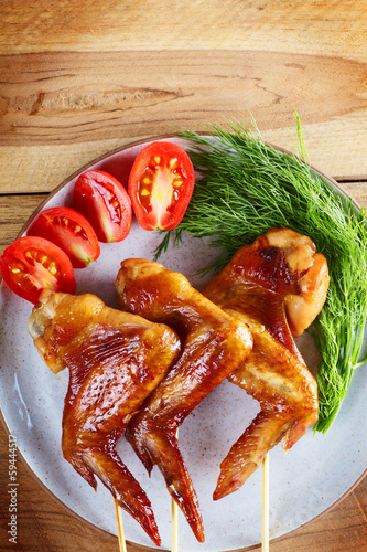 Chicken wings roast
