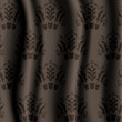 Damask fabric brown
