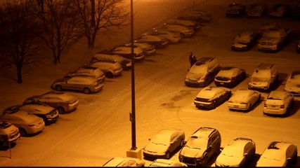 Stationnement en hiver