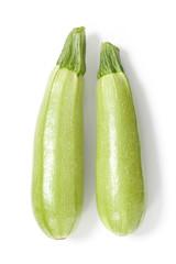 Two Zucchini