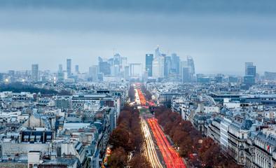 Paris, by night