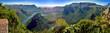 Leinwandbild Motiv Blyde Canyon (South Africa) Panorama