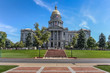Colorado state capitol in the center of Denver