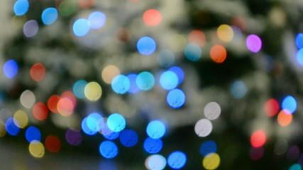 holiday, carnival diversity, rainbow round spots blinking