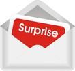 enveloppe surprise