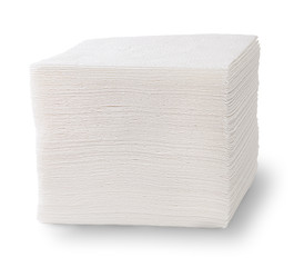 Stack Of Paper Napkins