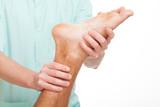 Foot rehabilitation poster