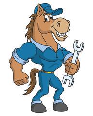 Horse-repairman