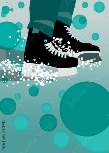 ice hockey sport background