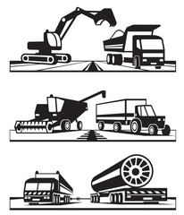 Construction and agricultural transportation