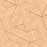 Abstract Wooden Striped Textured Of Tangram Parquet