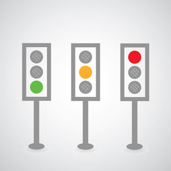 Traffic lights symbol