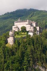 Amazing view of Alpine castle