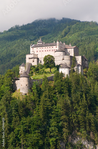 Amazing view of Alpine castle