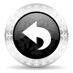 back christmas icon