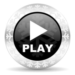 play christmas icon