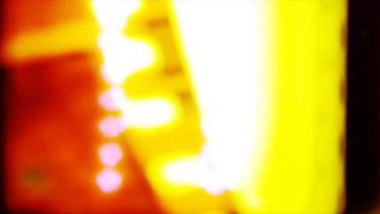 Fast light leak transition effect
