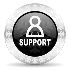 support christmas icon