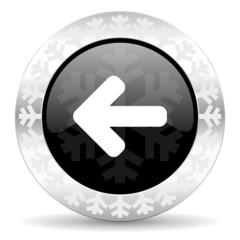 left christmas icon