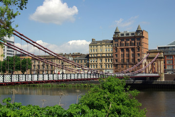 Bridge in Glasgow, Scotland