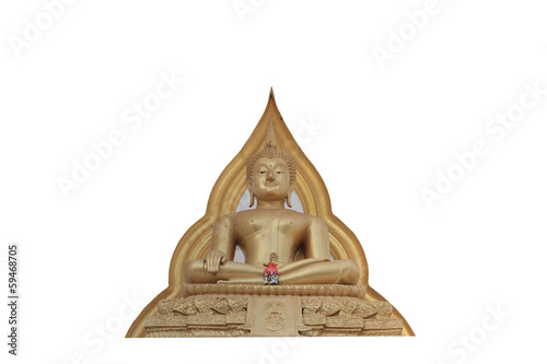 Buddha Statue Isolated