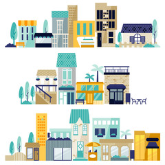 vector of shopping center