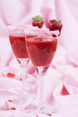 Valentines strawberry drink 008