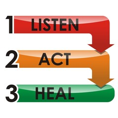 Listen, Act, Heal