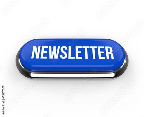 Long blue newsletter button