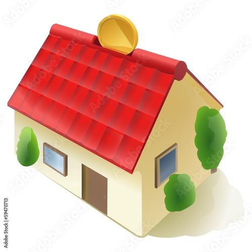 家の貯金箱
