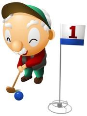シニアグラウンドゴルフ