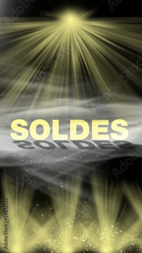 soldes plv video verticale