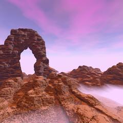 Canyon arch