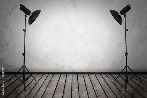 Leinwanddruck Bild Spotlight
