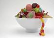 Schale mit Süßigkeiten