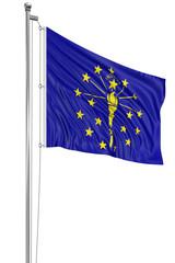 3D Indiana Flag