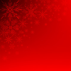 snow crystals background