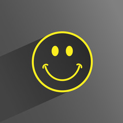 HAPPY Icon (smile like satisfaction quality customer service)