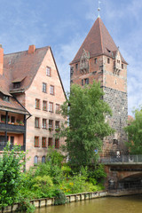 Schuldturm Tower in Nuremberg, Germany